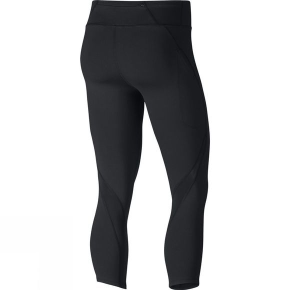 Nike Womens Power Epic Lux Running Crops Black
