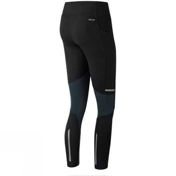 New Balance Womens Printed Impact Tights Galaxy