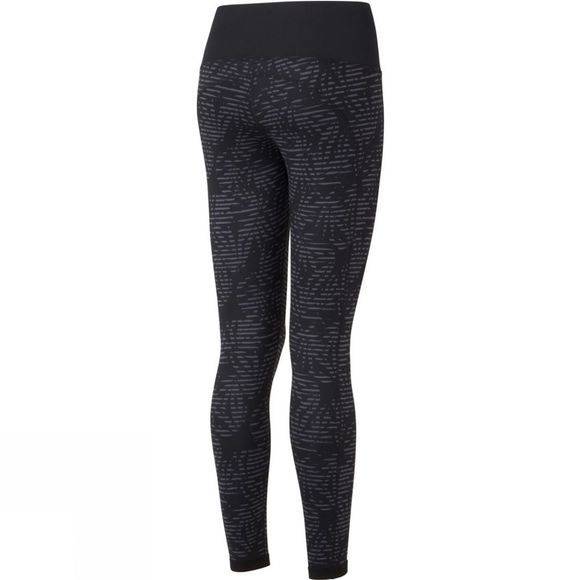 Ronhill Womens Momentum Reversible Tights Grey Leaf