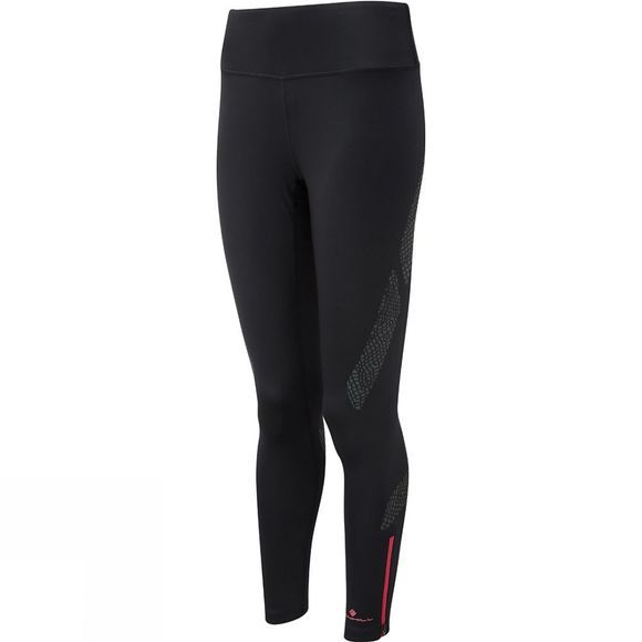 Ronhill Womens Momentum Afterlight Tights All Black