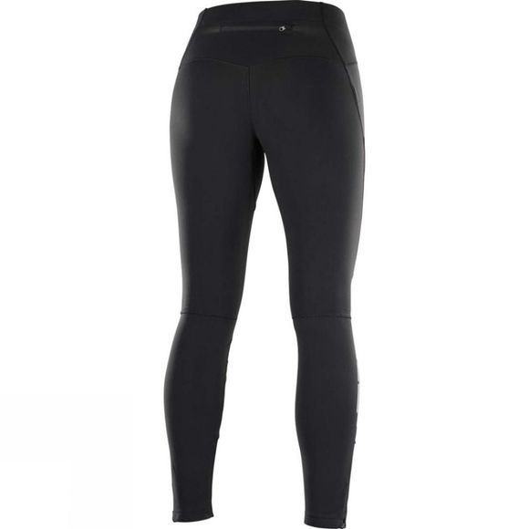 Salomon Womens Trail Runner Ws Tight Black/Blac