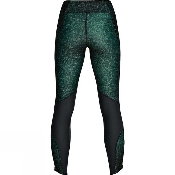 Under Armour Women's Armour Fly Fast Printed Tight Black/Deceit