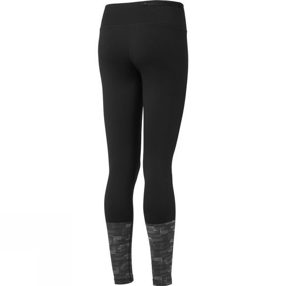 Ronhill Womens Momentum Afterlight Tight Black/Reflect