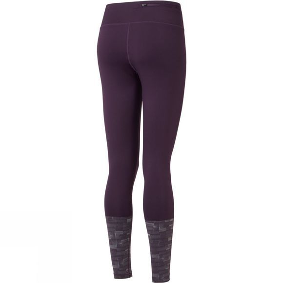 Ronhill Womens Momentum Afterlight Tight Blackberry/Reflect