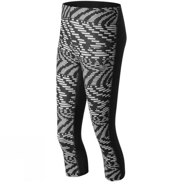 Womens Impact Capri Print Tights
