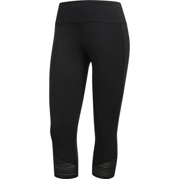 Adidas Womens How We Do 3/4 Tights Black