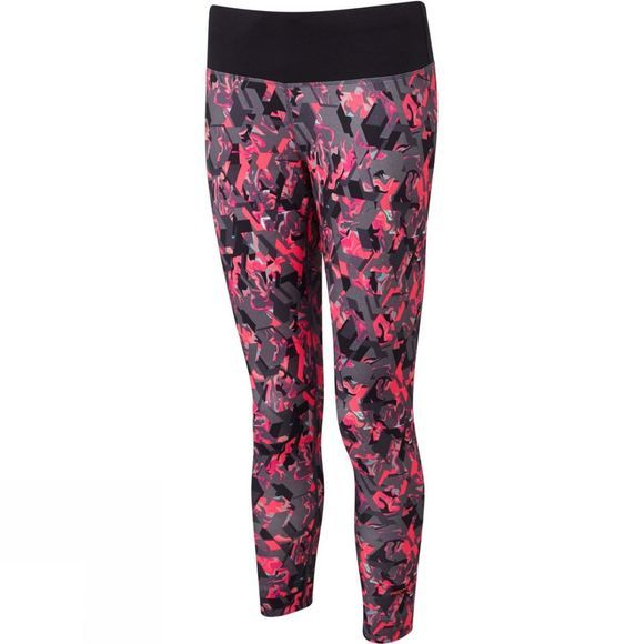 Ronhill Womens Momentum Crop Tights Hot Pink Hex