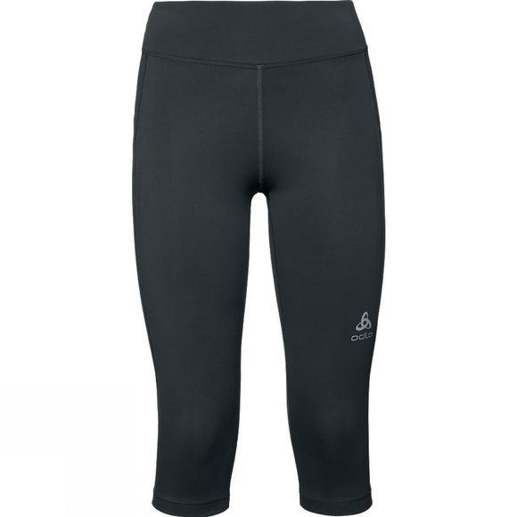 Odlo Womens Core Light BL 3/4 Bottom Running Tights Black