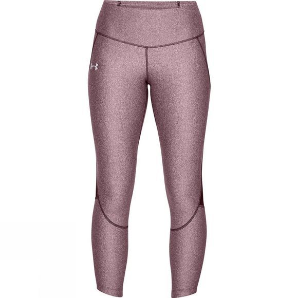 Under Armour Women's Armour Fly Fast Crop Dark Maroon/Light Heather