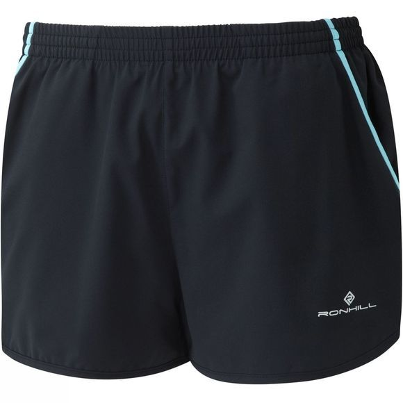 Ronhill Women's Stride Cargo Short Black/Surf