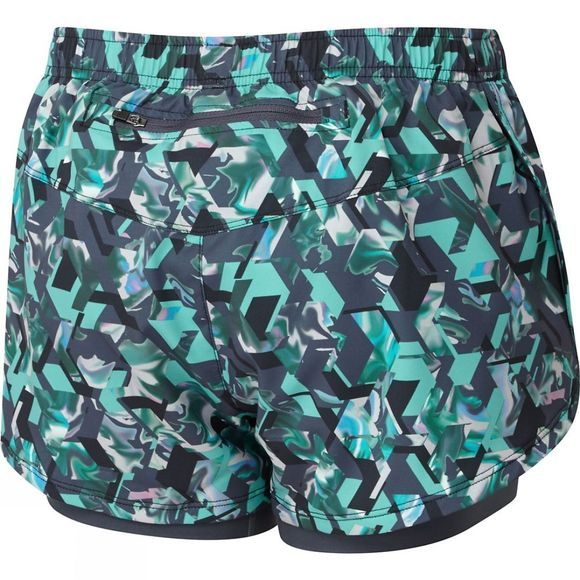 Ronhill Women's Momentum Twin Shorts PEACOCK HEX