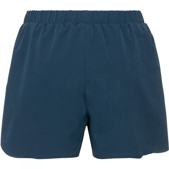 Odlo Womens Maha Woven X Shorts Blue Wing Teal