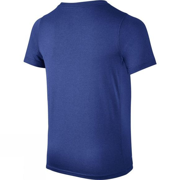 Nike Nike Boys Dry Short Sleeve Swoosh Top Game Royal/Blue Hero
