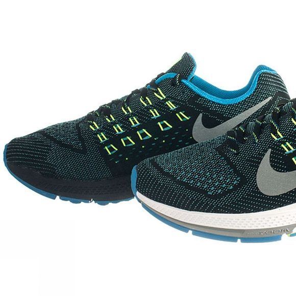 Nike Men's Zoom Structure 18 Black          /Silver
