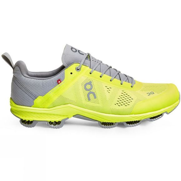On Mens Cloudsurfer Neon/Grey