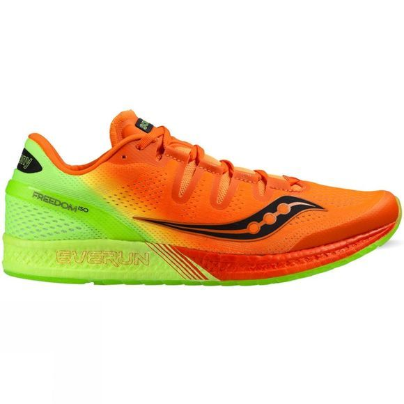 Saucony Mens Freedom ISO Orange/Citron