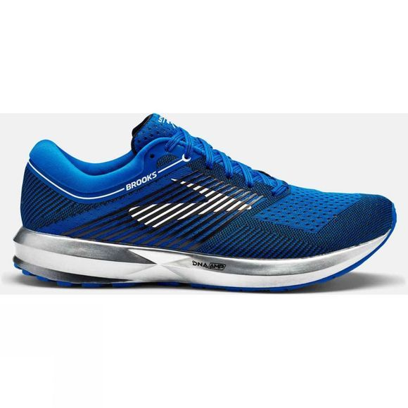 Brooks Mens Levitate Blue/Silver/Black