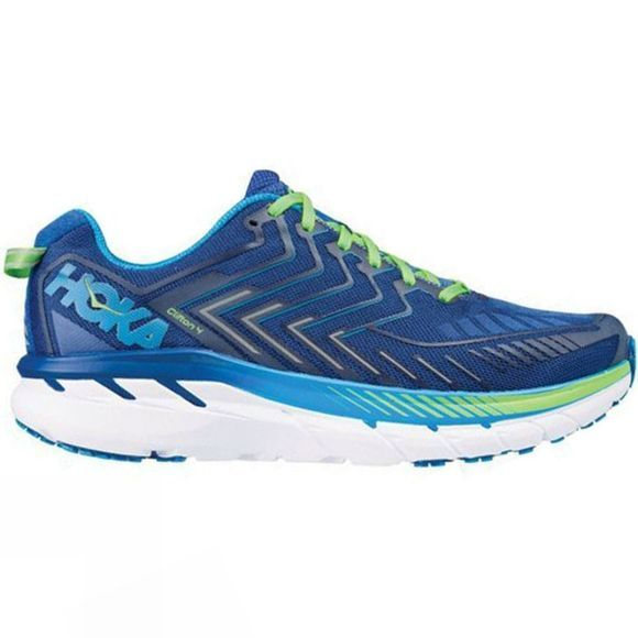 Hoka One One Mens Clifton 4 True Blue/Jasmine Green