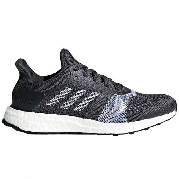 Adidas Womens Ultraboost ST Carbon S18/Ftwr White/Chalk Blue S18