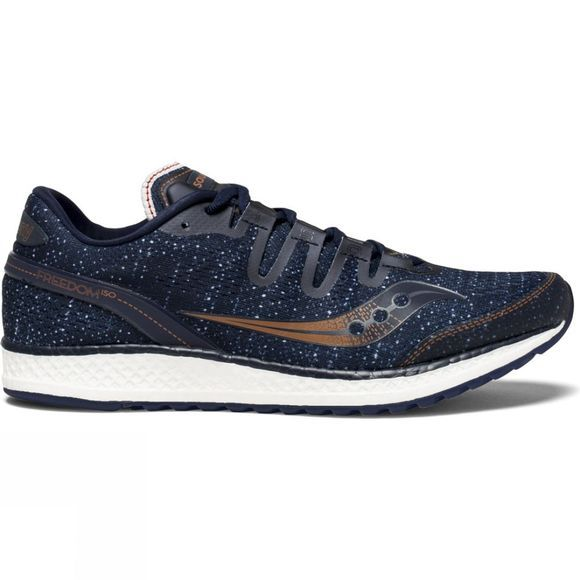 Saucony Mens Freedom ISO Navy/Denim/Copper