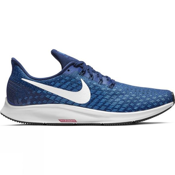 Nike Mens Air Zoom Pegasus 35 Indigo Force/White-Photo Blue-Blue Void
