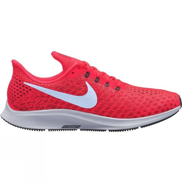 Nike Mens Air Zoom Pegasus 35 Bright Crimson/Ice Blue-Sail