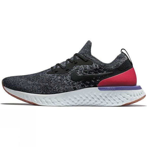 Nike Mens Epic React Black/Horizon Red