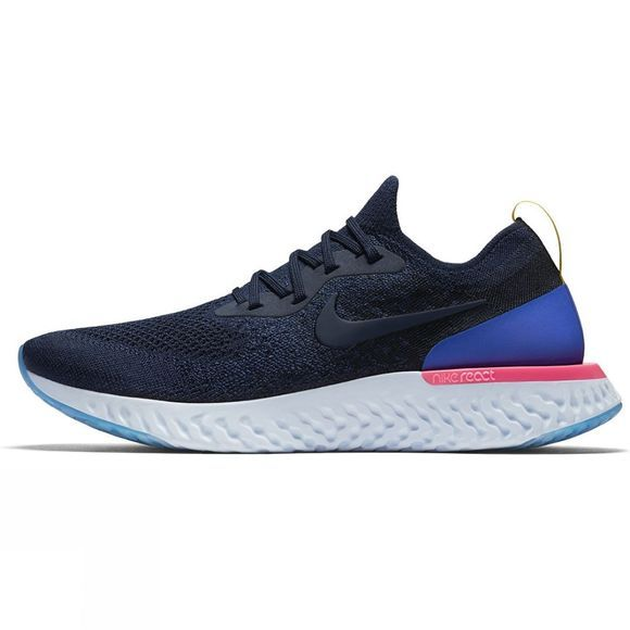 Nike Mens Epic React College Navy/College Navy-Racer Blue