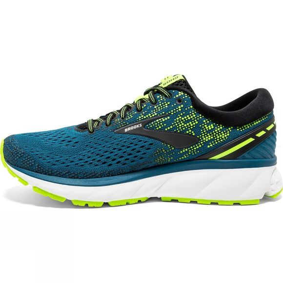 Brooks Mens Ghost 11 Blue/Black/Nightlife