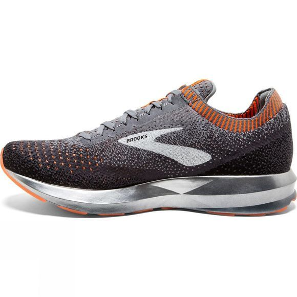 Brooks Mens Levitate 2 Grey/Black/Orange