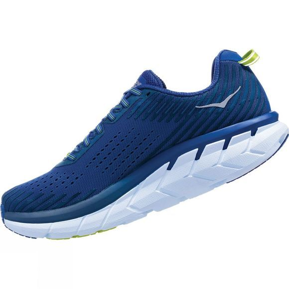 Hoka One One Mens Clifton 5 sodalite blue/mood indigo