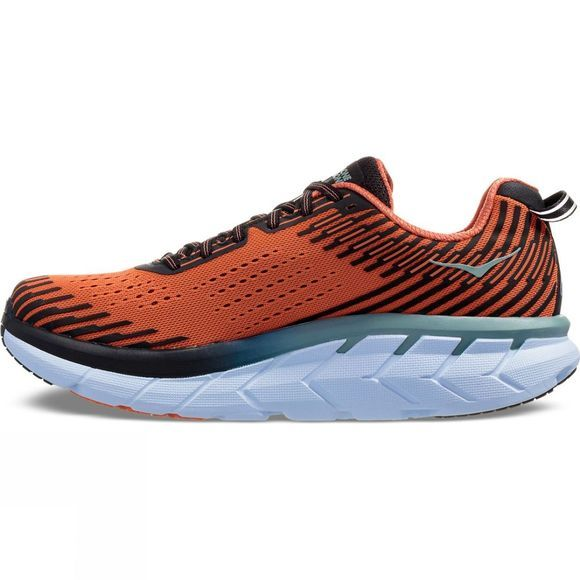 Hoka One One Mens Clifton 5 Nasturtium/ Phantom