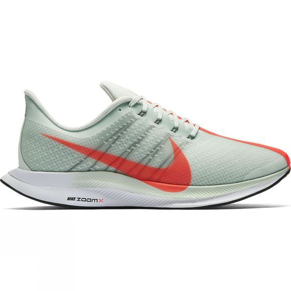 Nike Mens Zoom Pegasus 35 Turbo Barely Grey/Hot Punch-Black-White