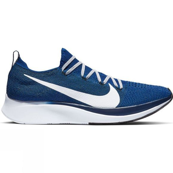 Nike Mens Zoom Fly Flyknit Deep Royal/White - Bllue Void