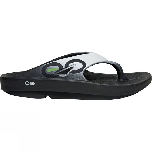 OOFOS Unisex OOriginal Sport Black/Cloud White