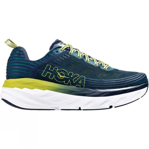 Hoka One One Mens Bondi 6 Deep Teal / Green Oasis