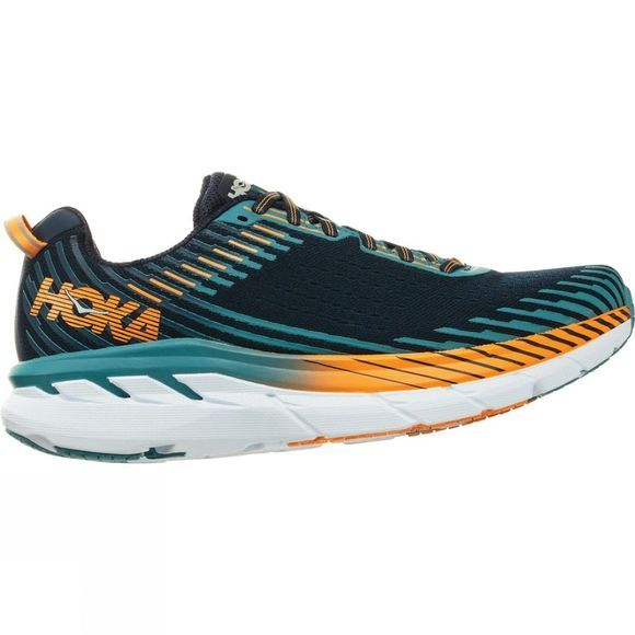 Hoka One One Mens Clifton 5 (Wide) Black Iris / Storm Blue
