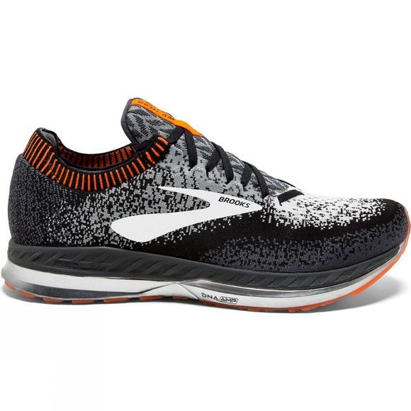 Brooks Mens Bedlam Black/Grey/Orange