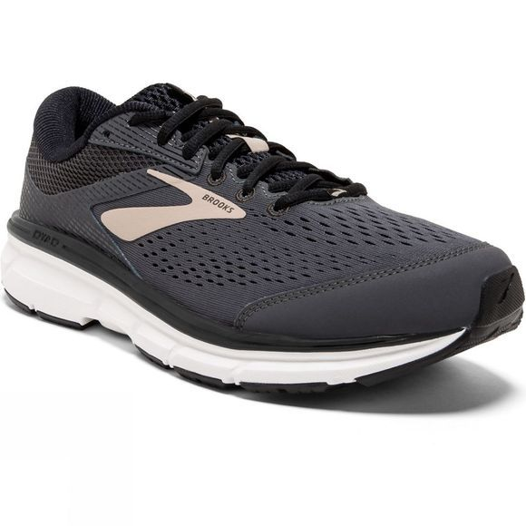 Brooks Mens Dyad 10 Grey/Black/Tan