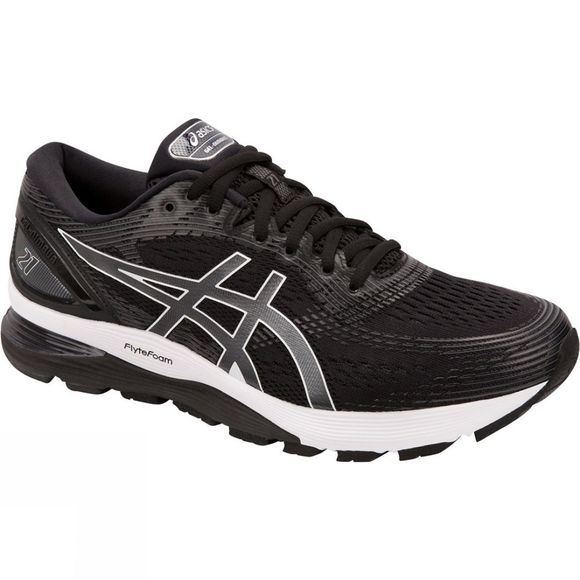 Asics Mens Gel-Nimbus 21  Black/Dark Grey