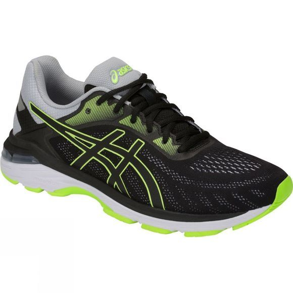 Asics Mens Gel Pursue 5  Black/Hazard Green