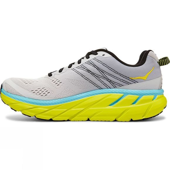 Hoka One One Men's Clifton 6 Lunar Rock/Nimbus Cloud
