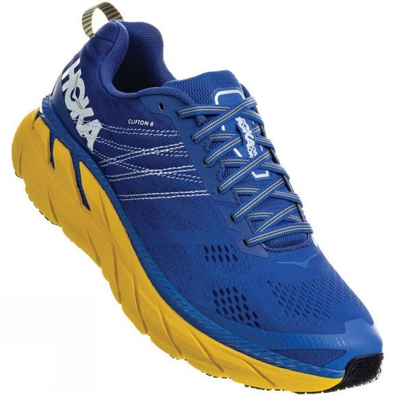 Hoka One One Men's Clifton 6 Nebulas Blue / Lemon