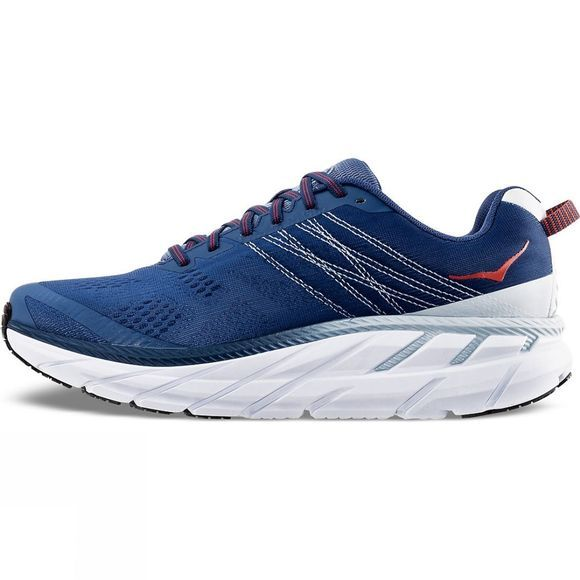 Hoka One One Mens Clifton 6 (Wide) Ensign Blue/ Plein Air
