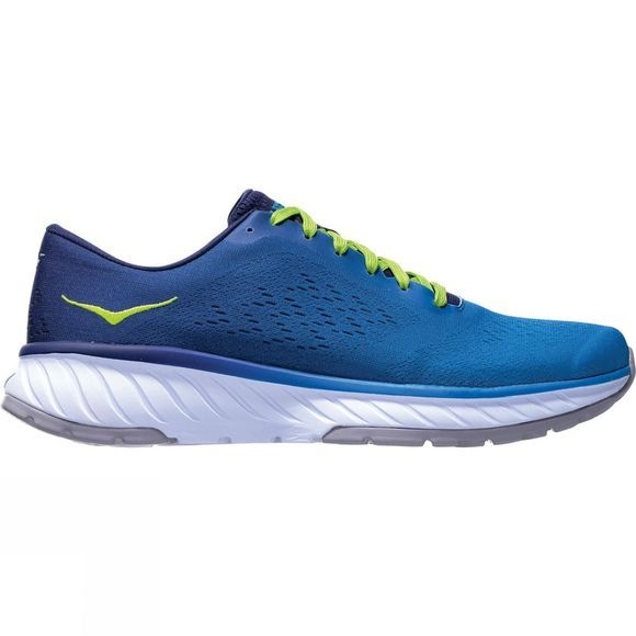 Hoka One One Men's Cavu 2 French Blue / Lime Green