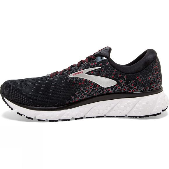 Brooks Men's Glycerin 17 Black/Ebony/Red