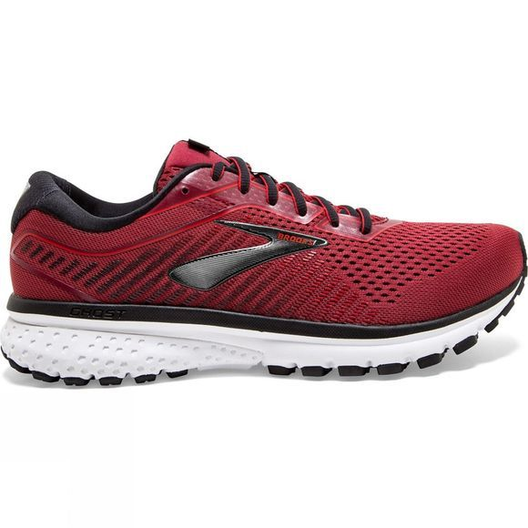 Brooks Men's Ghost 12 Red/Biking Red/ Black