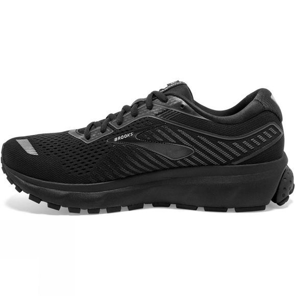 Brooks Men's Ghost 12  Wide Black/Grey