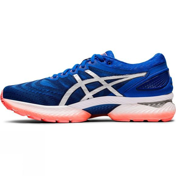 Asics Men's GEL-Nimbus 22 TUNA BLUE/PURE SILVER
