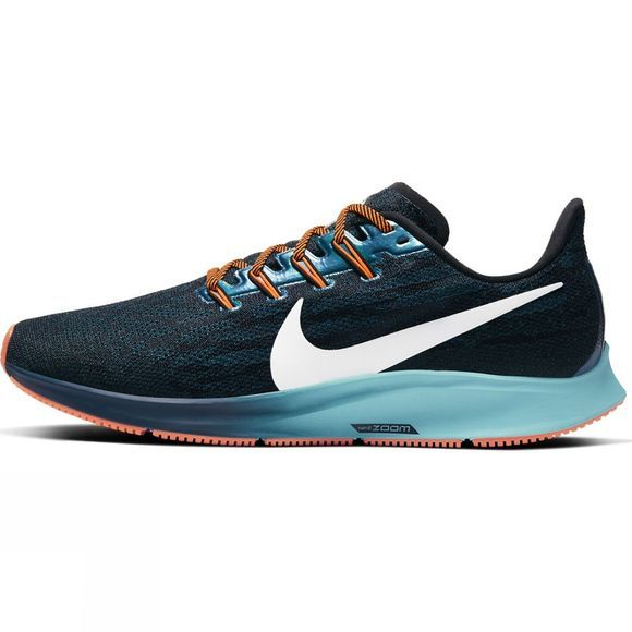Nike Men's Pegasus 36 Black/ Summit White-midnight Turq